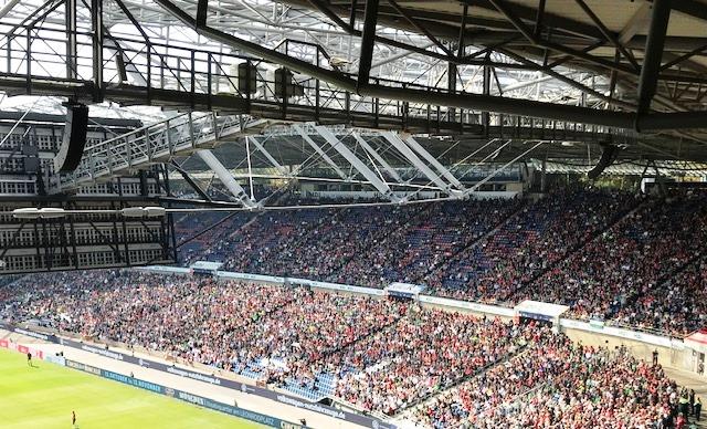 Westtribüne HDI-Arena Hannover 96
